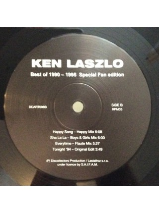 160226Ken Laszlo – Best Of 1990-19952019Lastafroz Production – DCART008S/SEurope