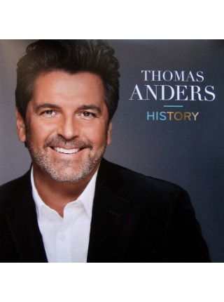 160206Thomas Anders – History2016White Shell Music – 4260 7237 111S/SGermany