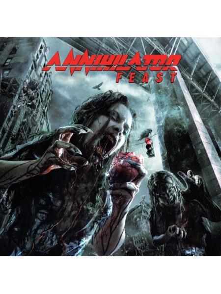 160235Annihilator  – Feast2013EMI – UDR 0263 LP, UDR – UDR 0263 LPS/SEurope20002600
