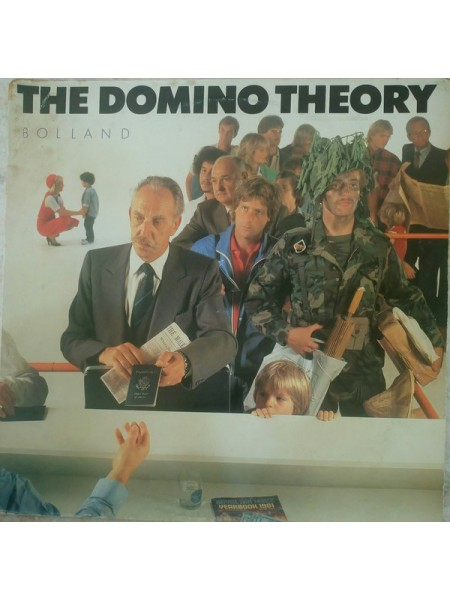 500365	- Bolland & Bolland....Pop Rock, Disco..♫	--- The Domino Theory,		1981/1982,	F1 Team	, LP 3359,	Italy	, NM/EX