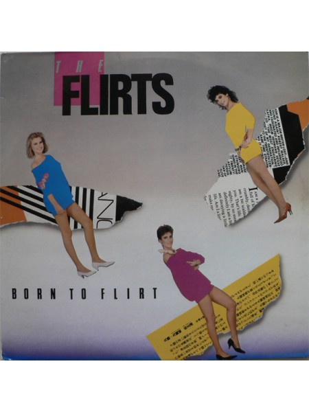 500095The Flirts – Born To Flirt1984Planet Records (17) – MOP 3031EX/EXSweden