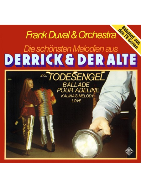 """500069Frank Duval & Orchestra – Die Schönsten Melodien Aus """"Derrick"""" Und """"Der Alte""""1979Telefunken – 6.24142EX/EXGermany"""