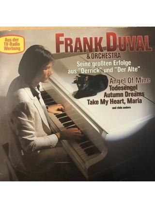 """500071Frank Duval & Orchestra – Seine größten Erfolge aus """"Derrick"""" und """"Der Alte""""1981TELDEC – 6.24624 AUEX/EXGermany"""