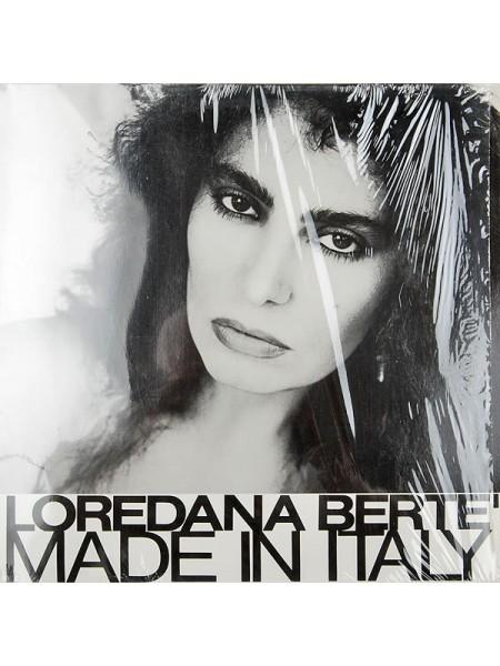 500052Loredana Berte' – Made In Italy1981CGD – 203 927, Ariola – 203 927EX/EXGermany