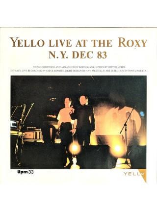 500046Yello – Live At The Roxy N.Y. Dec 831984Vertigo – 822 262-1EX/EXGermany