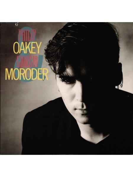 500042Philip Oakey & Giorgio Moroder – Philip Oakey & Giorgio Moroder1985A&M Records – SP-5080S/SUSA