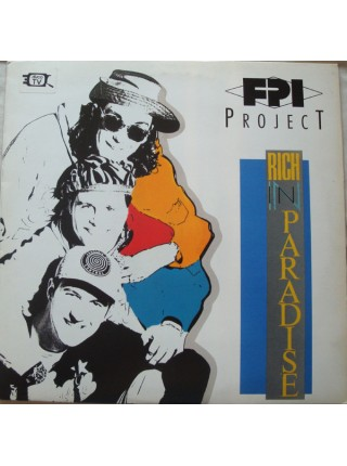 500039FPI Project – Rich In Paradise1991Paradise Project Records – PPR LP 01EX/EXItaly