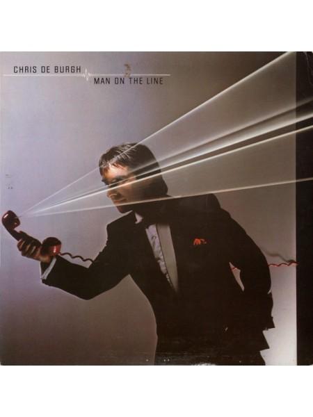 500009Chris de Burgh – Man On The Line1984A&M Records – AMLX 65002EX/EXEurope