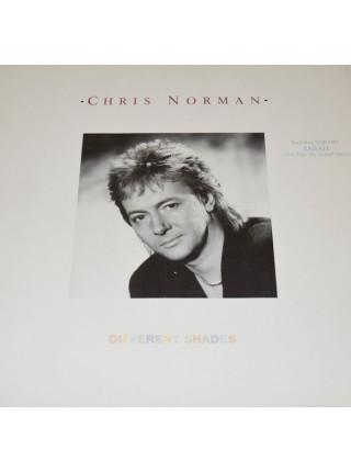 500016Chris Norman – Different Shades1987Mega Records – MRLP3080EX/EXScandinavia
