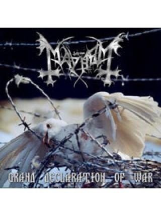 170211Mayhem – Grand Declaration Of War2006Back On Black – BOBV045LPS/SEurope