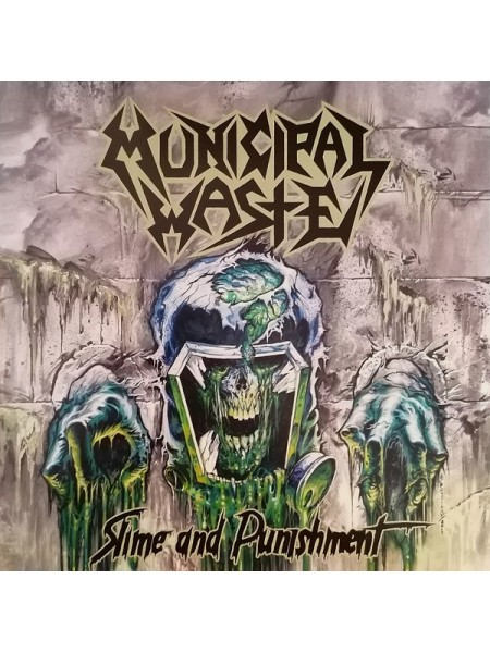 170284Municipal Waste – Slime And Punishment2017Nuclear Blast – NB 3233-1S/SEurope