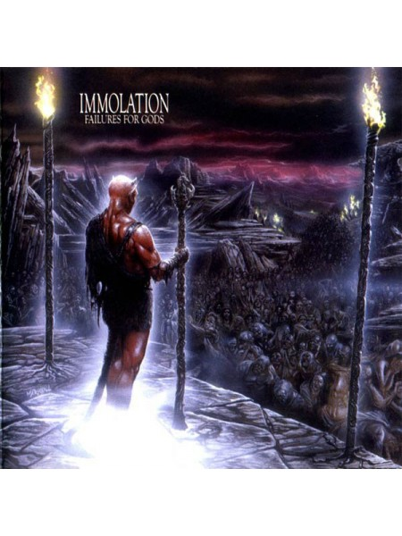 170295Immolation – Failures For Gods2017Metal Blade Records – 3984-14197-1S/SEurope