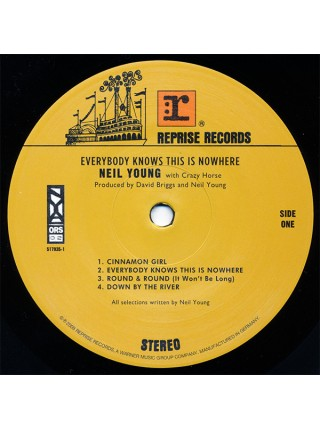 """99174875--Neil Young With Crazy Horse – Everybody Knows This Is NowhereReprise Records – 517935-1""""18.09.2009180 Gram Black Vinyl/Gatefold1WM12"""""""" винил/33. АльбомFUL""""S/S"""
