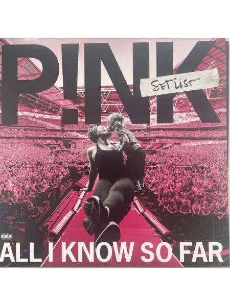 """9180485--P!NK – All I Know So Far: SetlistSony Music – 19439-88974-1, RCA – 19439-88974-1""""08.10.2021Black Vinyl/Gatefold2SONY12"""""""" винил/33. АльбомFUL""""S/S"""