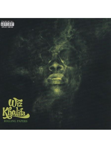 "99102973--Wiz Khalifa – Rolling PapersAtlantic Records – 075678643255""17.09.2021Orange Vinyl1SONY12"""" винил/33. АльбомFUL""S/S"