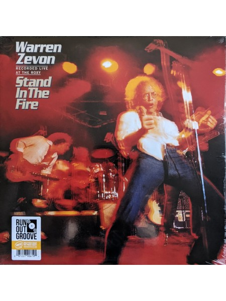 """99125128--Warren Zevon – Stand In The Fire – Recorded Live At The Roxy,Run Out Groove – ROGV-116, Asylum Records – ROGV-116""""02.04.2021Limited 180 Gram Black Vinyl/Gatefold/Numbered2WM12"""""""" винил/33. АльбомFUL""""S/S"""
