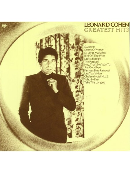 160099Leonard Cohen – Greatest Hits2018Columbia – 88985435361S/SEurope