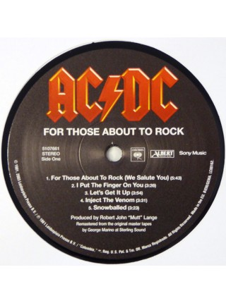 160095AC/DC – For Those About To Rock (We Salute You)2009Sony Music – 5107661S/SEurope