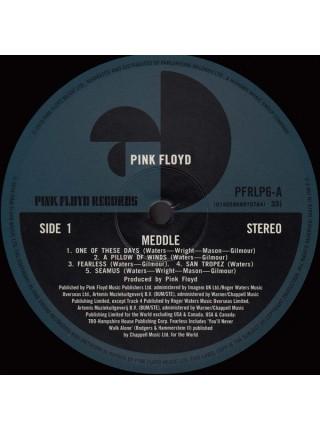 160107Pink Floyd – Meddle2016Pink Floyd Records – 0190295997076S/SEurope