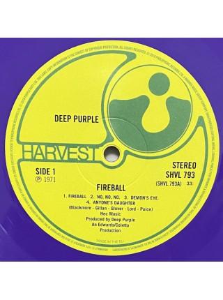 160141Deep Purple – Fireball2018Harvest – 0190295565091S/SEurope(Purple vinyl)