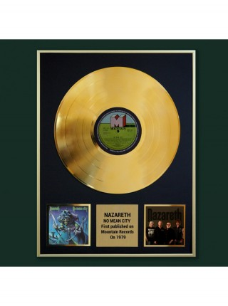 Реплика студийной золотой записи Nazareth - No Mean City