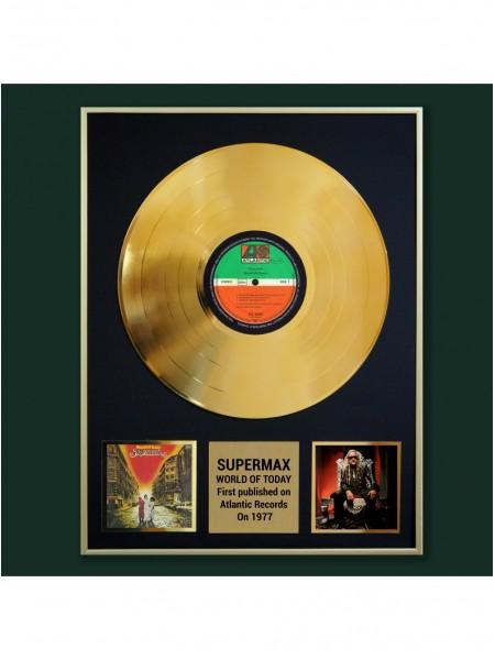 Реплика студийной золотой записи Supermax - World Of Today
