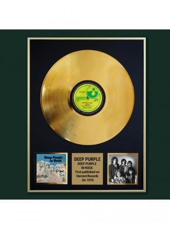 Реплика студийной золотой записи Deep Purple -  In Rock