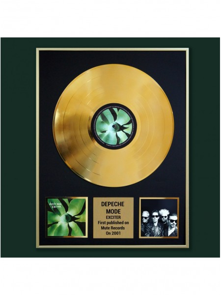 Реплика студийной золотой записи Depeche Mode - Exciter
