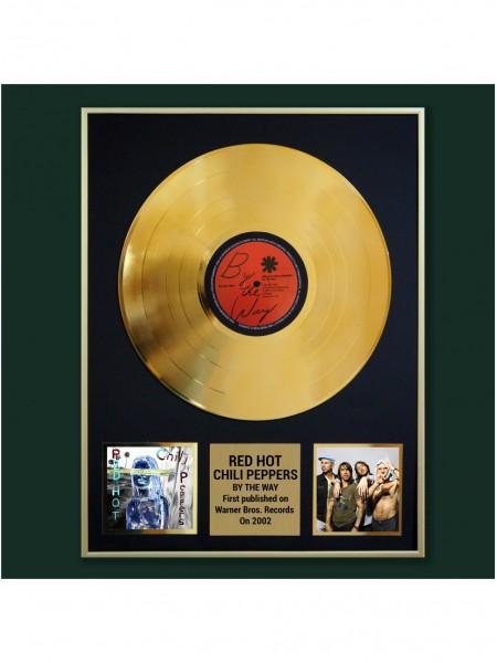 Реплика студийной золотой записи Red Hot Chili Peppers - By The Way