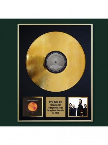 Реплика студийной золотой записи Coldplay - Parachutes
