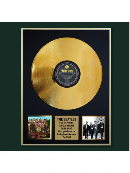 Реплика студийной золотой записи The Beatles - Sgt. Pepper's Lonely Hearts Club Band