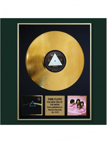 Реплика студийной золотой записи Pink Floyd - The Dark Side Of The Moon