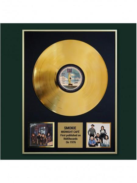 Реплика студийной золотой записи Smokie - Midnight Café