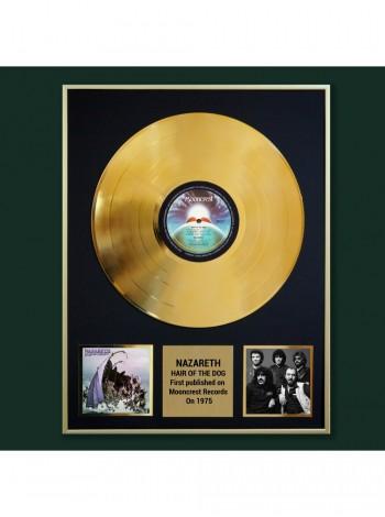 Реплика студийной золотой записи Nazareth - Hair Of The Dog
