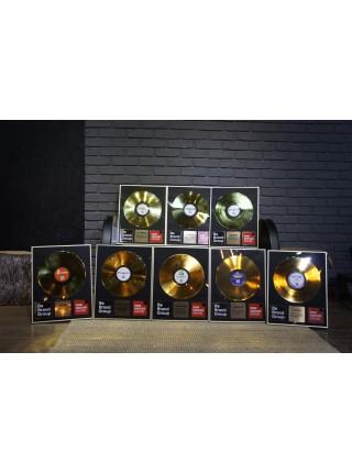 Реплика студийной золотой записи Ozzy Osbourne - Blizzard of Ozz