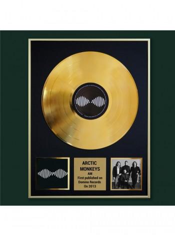 Реплика студийной золотой записи Arctic Monkeys - AM