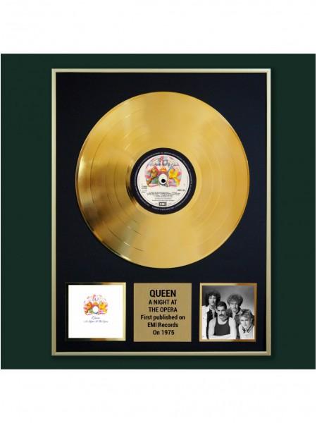 Реплика студийной золотой записи Queen - A Night At The Opera