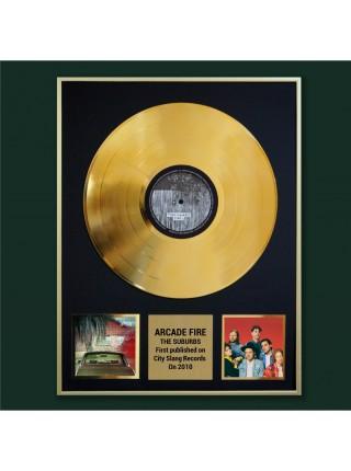 Реплика студийной золотой записи Arcade Fire - The Suburbs