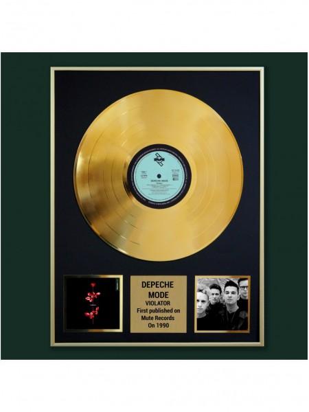 Реплика студийной золотой записи Depeche Mode - Violator