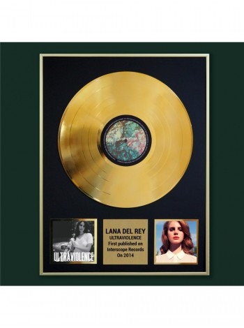 Реплика студийной золотой записи Lana Del Rey - Ultraviolence