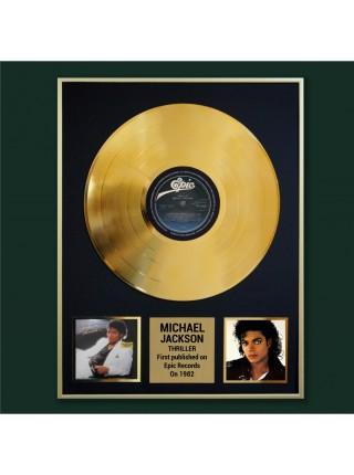 Реплика студийной золотой записи Michael Jackson - Thriller