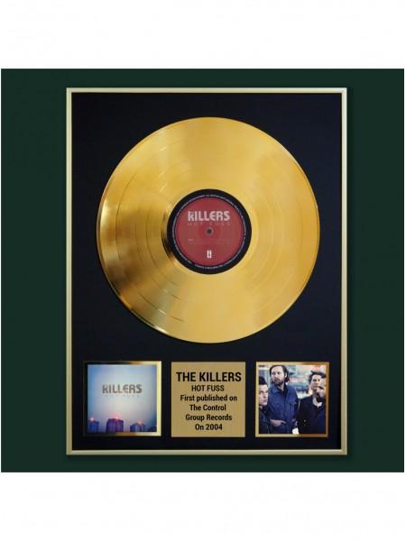 Реплика студийной золотой записи The Killers - Hot Fuss