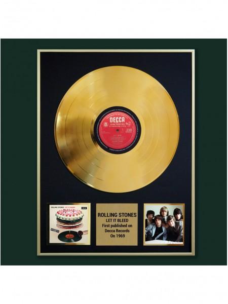 Реплика студийной золотой записи Rolling Stones - Let It Bleed