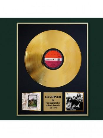 Реплика студийной золотой записи Led Zeppelin - IV