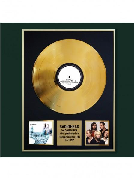 Реплика студийной золотой записи Radiohead - OK Computer