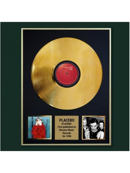Реплика студийной золотой записи Placebo - Placebo