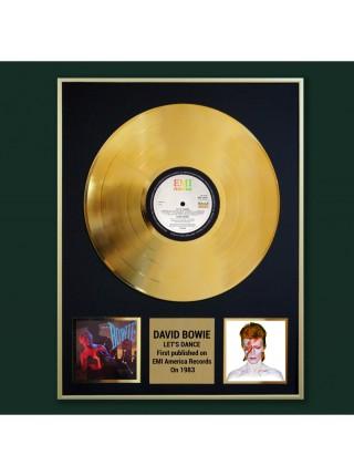 Реплика студийной золотой записи David Bowie – Let's Dance