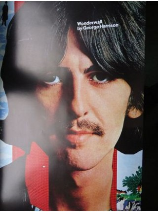 George Harrison - Poster From George Harrison Wonderwall Music Japan Album - Replica