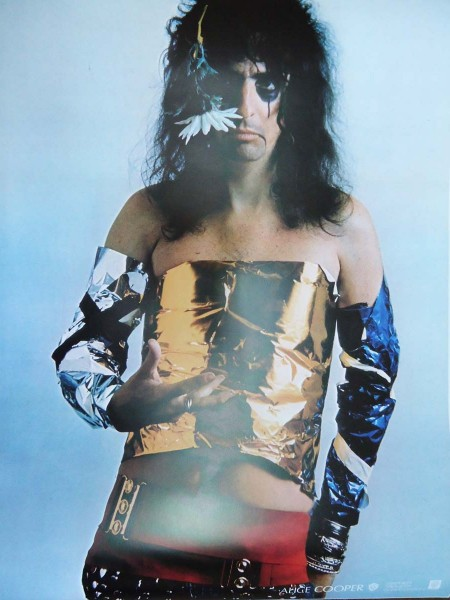 Alice Cooper - Poster From Alice Cooper Billion Dollar Babies Japanese Album - Replica
