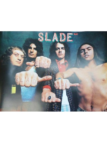 Slade - Poster From Slade Play It Loud Japanese Album - Replica